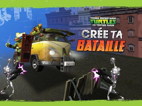 Tortues Ninja : crée ta bataille