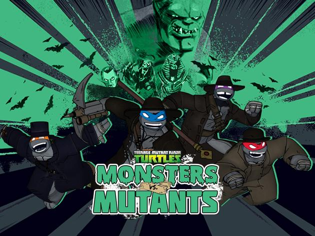 TMNT: Monsters vs. Mutants