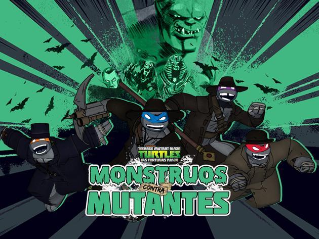 Las Tortugas Ninja: Monstruos contra Mutantes