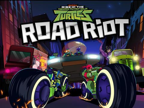 Rise of the Teenage Mutant Ninja Turtles: Road Riot