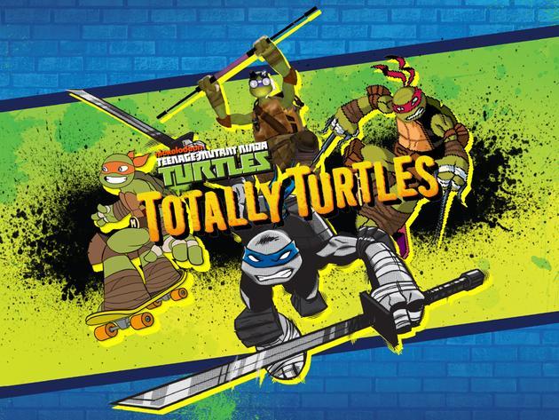 Teenage Mutant Ninja Turtles: Totally Turtles