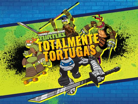 Las Tortugas Ninja: Totalmente Tortugas