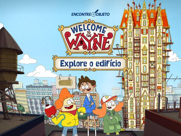 O Edifício Wayne: Explore o edifício