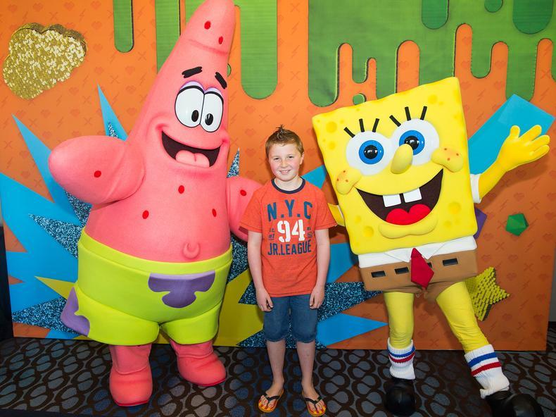 Kids Meet Nick Toons at KCA | 2018 Nickelodeon Kids\' Choice Awards