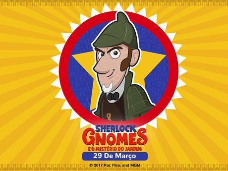 Sherlock Gnomes - Encontre A Diferença