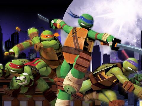 Tartarugas Ninja: Corrida no Telhado