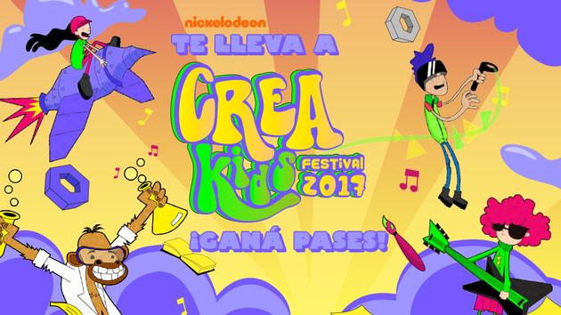 ARGENTINA: ¡Participá por pases para el Festival Crea Kids!