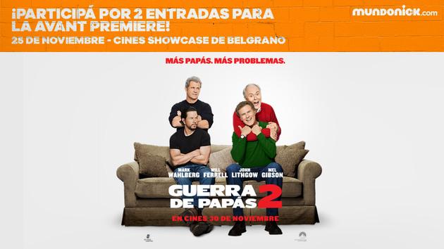 ARGENTINA: ¡Participá por entradas para Guerra de Papás 2!