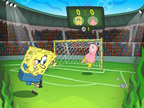 Bob Esponja - Fútbol de Burbujas