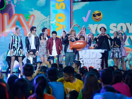 Ganadores - Kids Choice Awards Colombia 2016