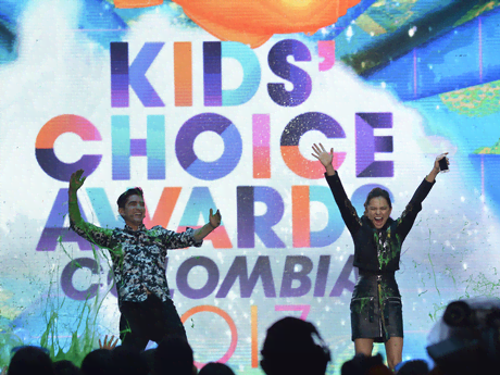 ¡Mira Los Momentos Slime! - Kids' Choice Awards Colombia 2017