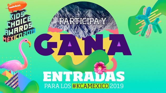 MÉXICO: Asiste a los Kids' Choice Awards México 2019
