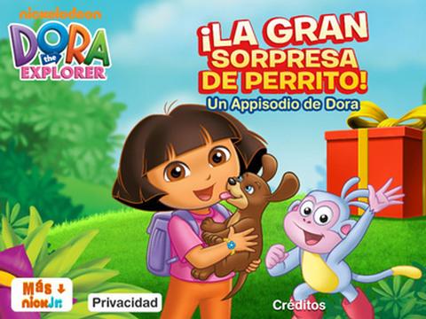 Appisodio de Dora: La Gran Sorpresa de Perrito