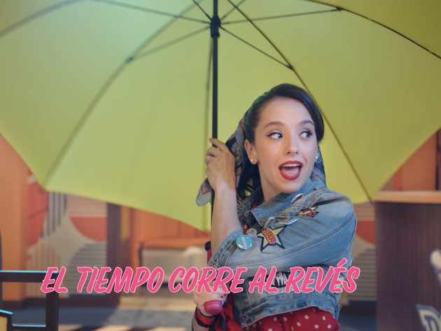 Club 57 | Short | Lyric video: El Tiempo Corre Al Revés