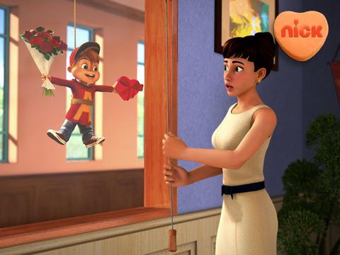 Alvin y las Ardillas | Short | Canción de Amor