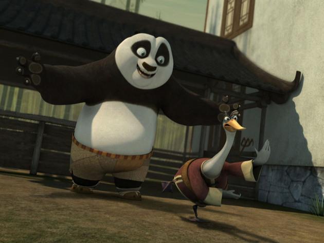 Kung Fu Panda | Shorts | Papá Karateka