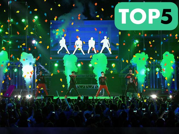 Big Time Rush  | Short | Top 5 ao vivo