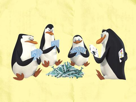 Los Pinguinos De Madagascar | ¡Siempre Elegantes!