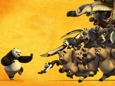 Kung Fu Panda | Aplastamientos