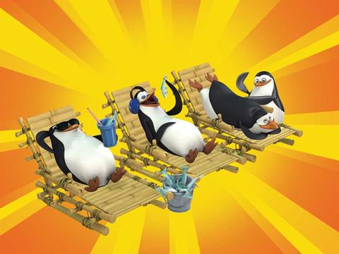 Los Pingüinos de Madagascar | ¡Vacaciones Ultra Secretas!