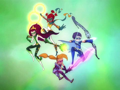 Mysticons | Short | Cuatro tipos de amigos