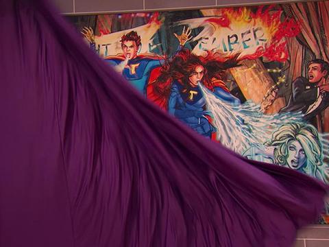 The Thundermans | Short | Un mural muy extraño