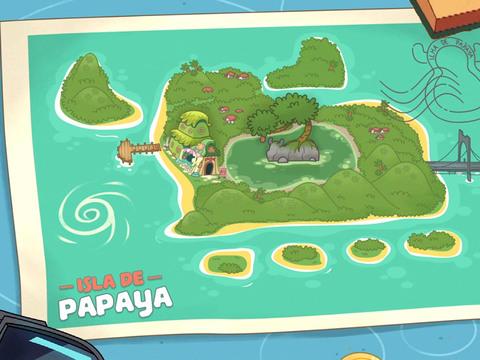 Papaya Bull | Short | ¡Isla Papaya, todo incluido!