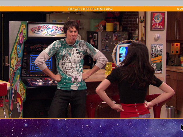 iCarly   SHORT   Bloopers Remix