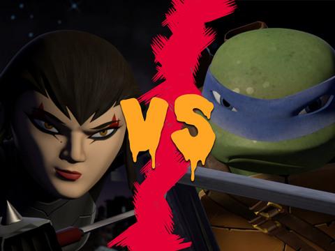 Tortugas Ninja | Short | Leo vs Karai