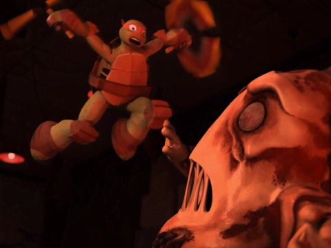 Las Tortugas Ninjas | Short | Mikey vs. Cara de Pizza