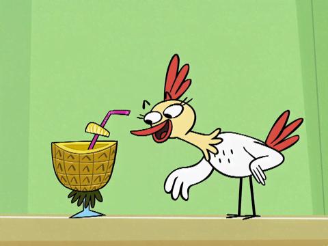 ToonMarty | Short | Un pollo escurridizo