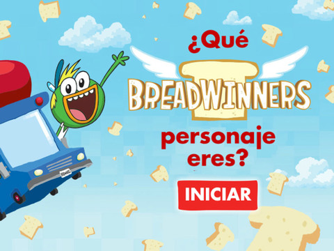 Breadwinners: ¿Qué personaje de Breadwinners eres?