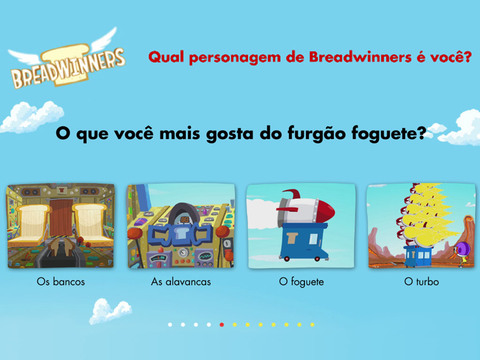 Qual personagem de Breadwinners é você?