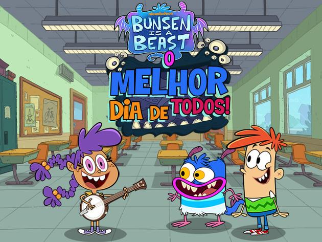 Bunsen é uma Fera | Jogos | O Melhor Dia de Todos!
