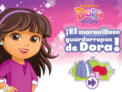 ¡El Maravilloso Guardarropas de Dora!
