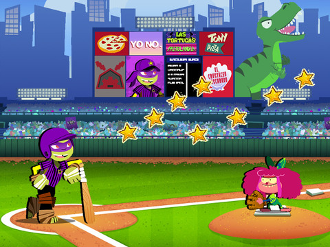Estrellas de Baseball de Nick