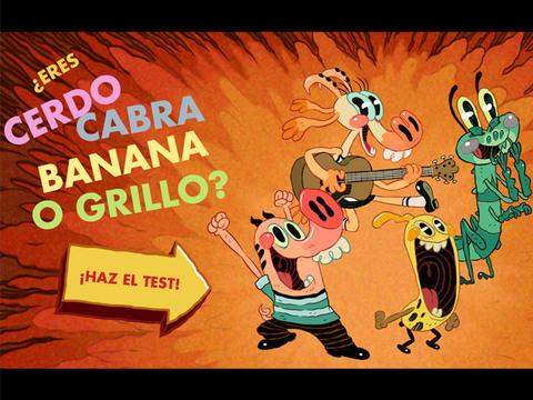 ¿Eres Cerdo, Cabra, Banana o Grillo?