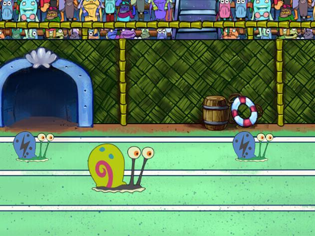SpongeBob SquarePants: The Great Snail Race Racing Game