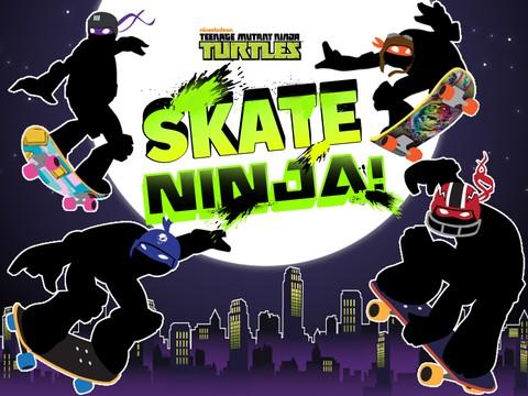 Tartarugas Ninja Skate Ninja