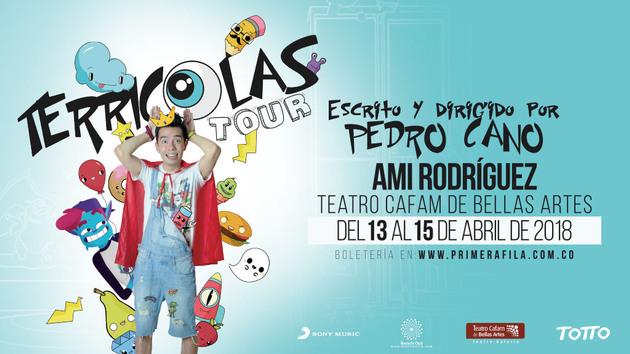COLOMBIA: Participa por 1 boleta doble para el Terricolas Tour de Ami Rodríguez
