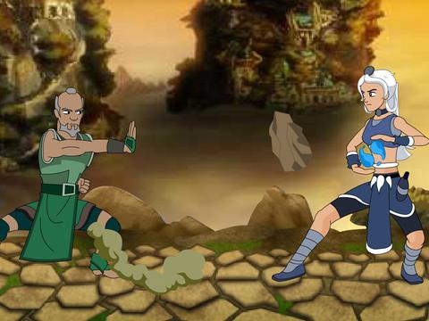 Avatar: La leyenda de Aang - Arena