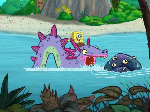 Bob Esponja - Isla Monstruosa Parte 3