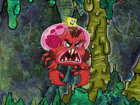 Bob Esponja - Isla Monstruosa Parte 5