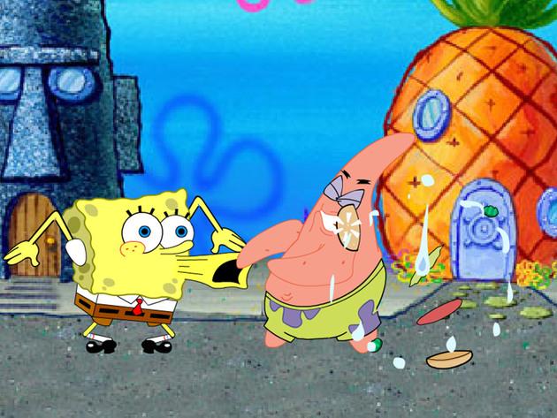 Bob Esponja - Lucha en los Corales