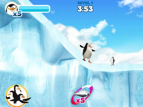 Los Pingüinos de Madagascar - Héroes Bajo Cero