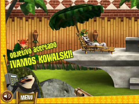 Los Pingüinos de Madagascar - Protegiendo al Rey