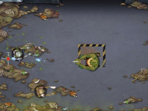 Monsters VS Aliens: Operación Limpieza de Zombies
