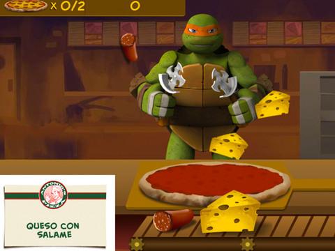 TMNT: ¡Tiempo de pizza!