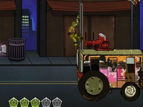 Jogo Tartarugas Ninjas: Turtleportation Online Gratis