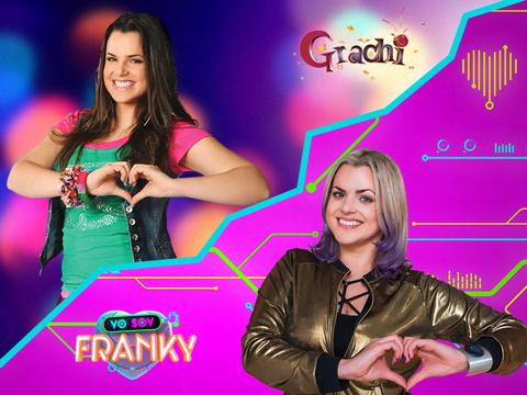 Antes e Depois: Grachi e Eu Sou Franky